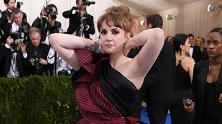 Lena Dunham 'rushed to emergency room' shortly after arriving to Met Gala 2017