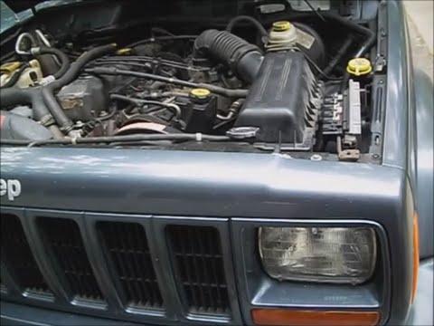 Jeep Cherokee Sport 01 w  4.0l pt.1 overheat diagnose, flush system, remove radiator