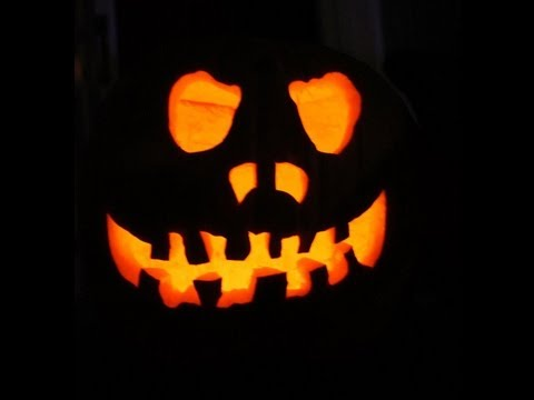 How To Carve A Pumpkin Part I (without a pattern)