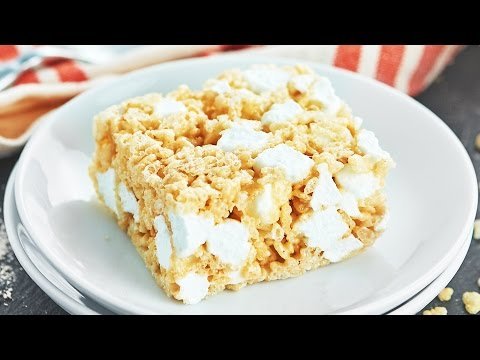 Rice Krispie Treats Recipe - Show Me the Yummy - Episode 45