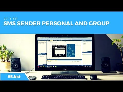 VB.Net - How to Make SMS Sender