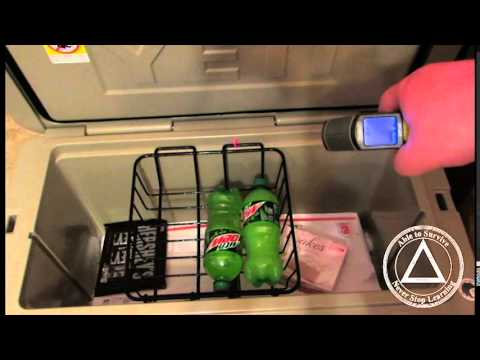 Yeti Cooler Review Dry Ice Test