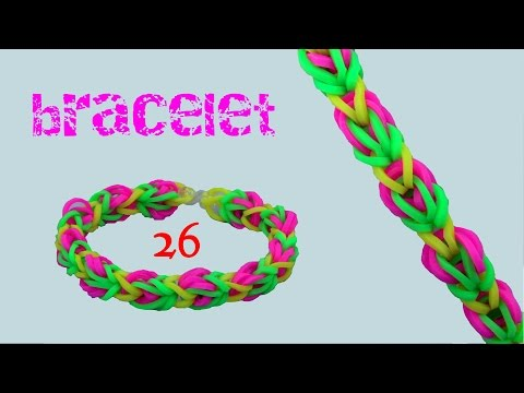 rainbow loom bracelet 26