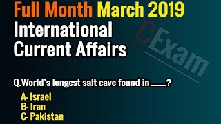 Current Affairs of Pakistan March 2019 by CExam | Music Jinni