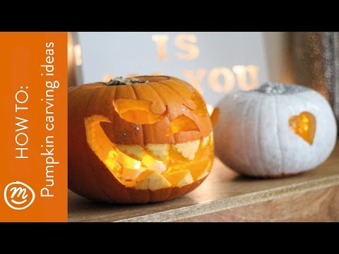 Pumpkin carving ideas | HOW TO with Channel Mum