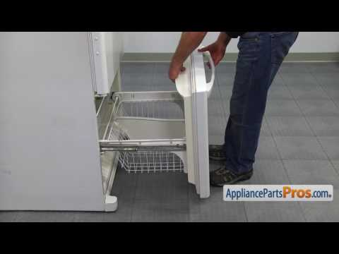 Refrigerator Freezer Door Gasket (part #W10571962) - How To Replace