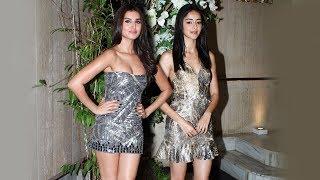 Download Student Of The Year 2 Actresses Ananya Panday And Tara Sutaria At Manish Malhotra Party Video