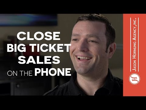 The Secret To High Ticket Sales Over The Phone