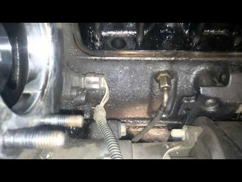 01 Dodge Cummins Oil Leak; left side of motor