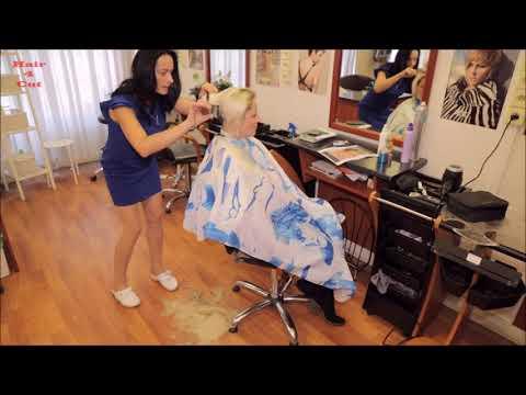 2017-39 Vera preview - long hair cut very short