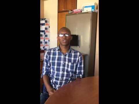 Mthokozisi Mabena - CTA student at UNISA