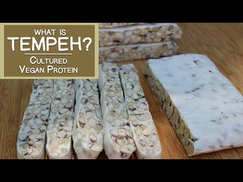 What is Tempeh? A Cultured Vegan Protein Source
