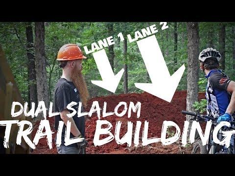 MTB Trail Building: Dual Slalom Race Track