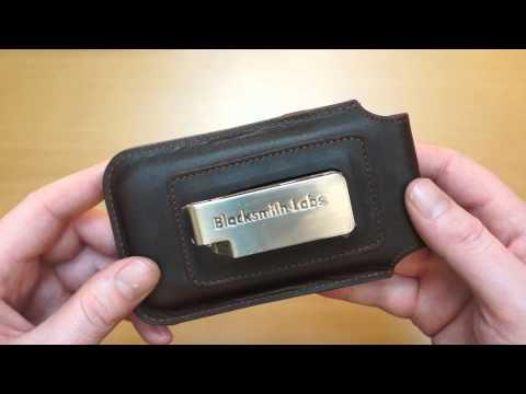 BlackSmith-Labs Barrett iPhone 5S / 5C / 5 Belt Holster Case