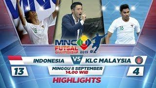 Hebat Banget 21 Indonesia Vs Klc Malaysia 28Ft 3A 13 4 29 Mnc Futsal Championship 2019