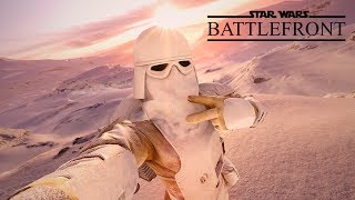 Star Wars Battlefront - Random Moments #10 (Chewbacca Trolling, Disturbance In The Force)