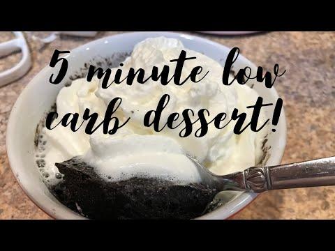 5 Minute Low Carb Dessert