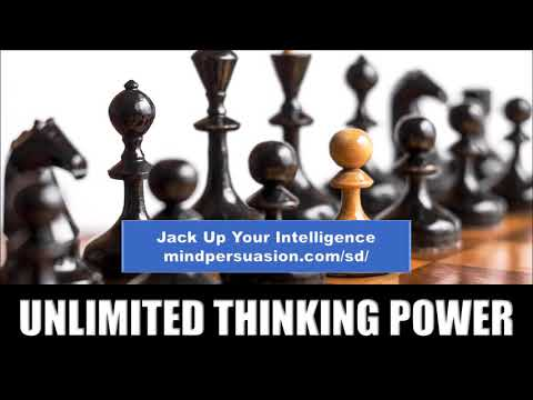 Unlimited Thinking Power - Become Limitless with Whole Brain Intelligence - Subliminal Affirmations