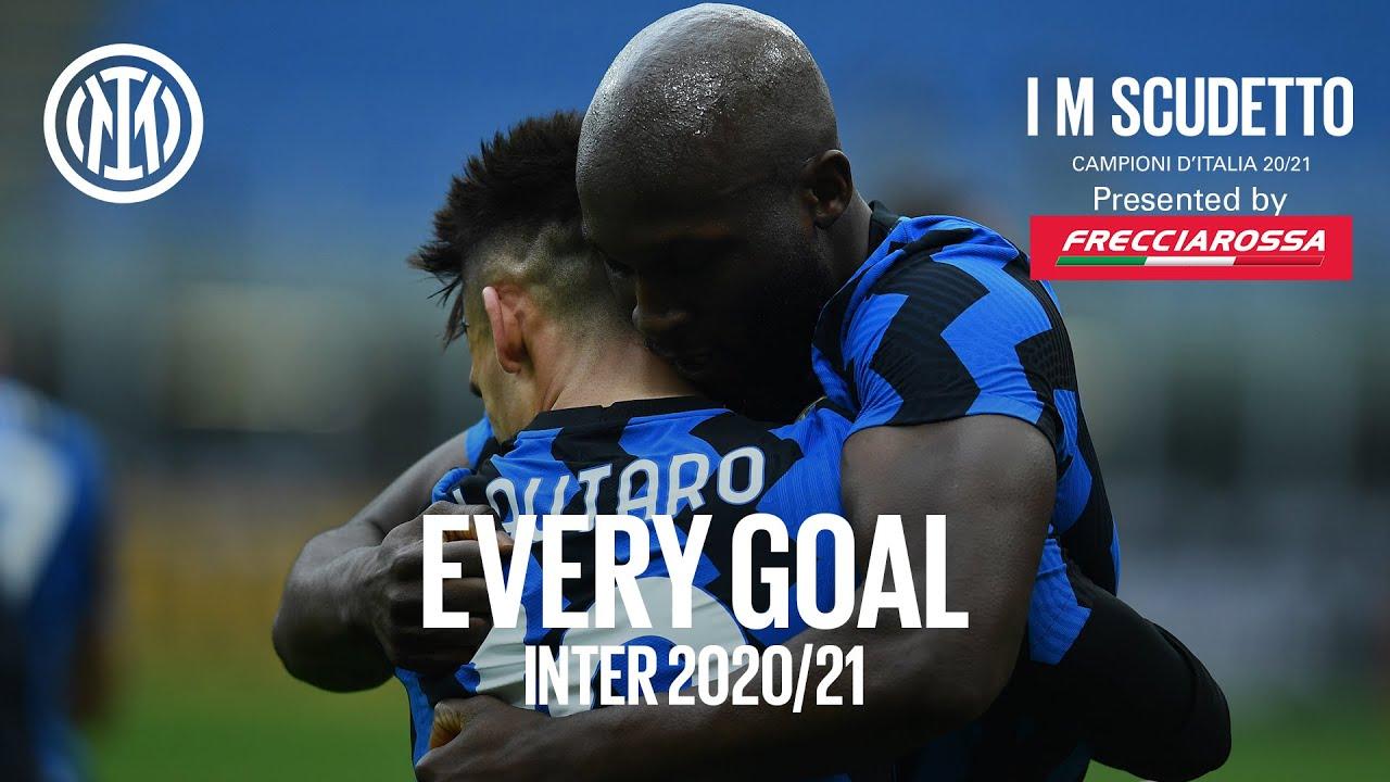 EVERY GOAL!   INTER 2020/21   #IMSCUDETTO   Lukaku, Lautaro, Hakimi, Eriksen and more... 🏆⚫🔵🇮🇹