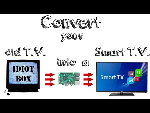 How to convert your old 90s tv or monitor into a Smart T. V. (4k video)