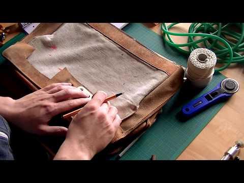 Making Pouches and Tubular Slingshot Bands - Gummis und Leder für die Zwille herstellen