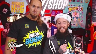 Enzo Amore & Big Cass are in the holiday spirit thanks to WWE Shop: Raw, Nov. 21, 2016