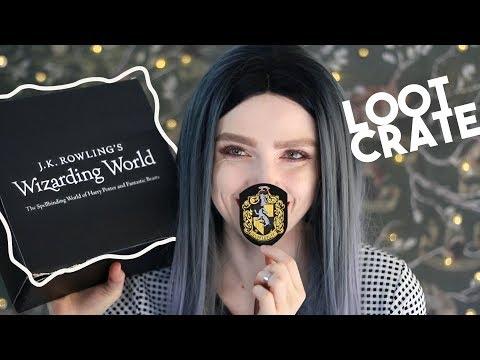 WIZARDING WORLD Loot Crate ϟ Enchanting Essentials!