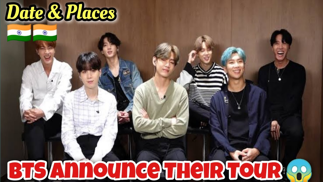 BTS Announce Their Tour 😱 | Dates & places | Cinewood Hub