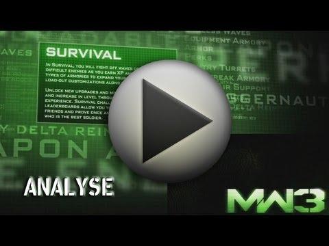 Analyse du nouveau trailer de Modern Warfare 3 - Mode Survival