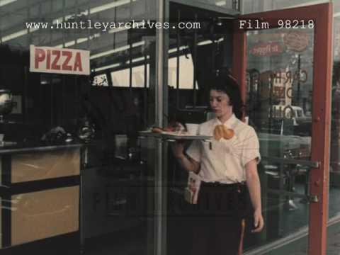 Carhops at the Diner, 1960's - FIlm 98218