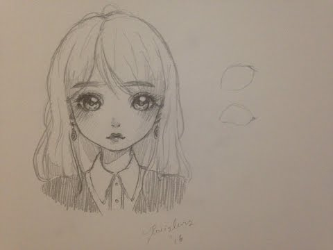 How to draw a girl (manga/doll style)