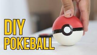 DIY How to make a Pokeball | POKEMON GO