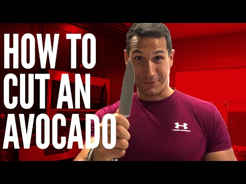 The Right Way To Cut An Avocado