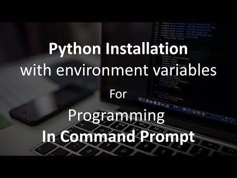 Python Complete Command Prompt Setup tutorial (for beginners)