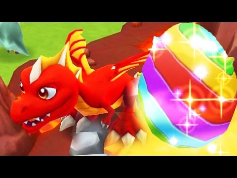 DragonVale World Gameplay Part 2 - Breeding Rainbow Dragon Part 1