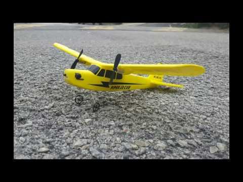 Remote Control Mini Piper J3 Cub Demo