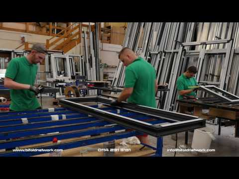 The Bifold Network  - The making of a aluminium Bifold Door