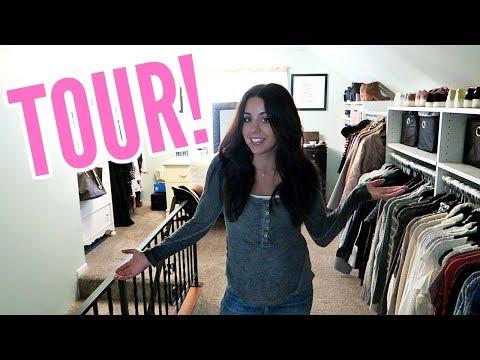 CLOSET TOUR AND ORGANIZATION TIPS! PART 2