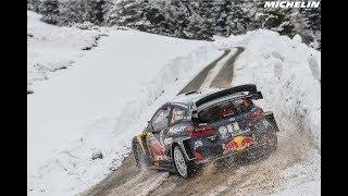 Leg 3 - Top moments - 2018 WRC Rallye Monte-Carlo - Michelin Motorsport