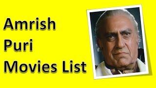Amrish Puri Movies List