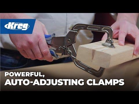 Kreg Clamps with Automaxx® Auto-Adjust Technology
