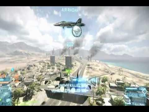 BF3 jet Flying