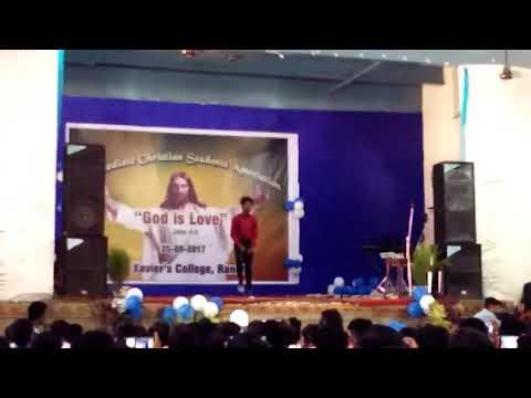 Stunt Hip Hop Dance by St. Xavier's College boy on
