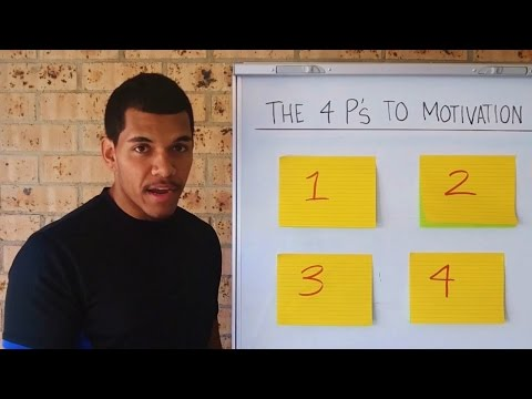 How To Stay Motivated To Lose Weight | The 4 P's To Motivation