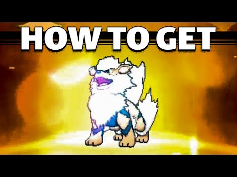 HOW TO Evolve Growlithe into Arcanine in Sun and Moon