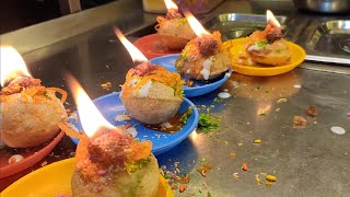 Fire Pani Puri | India's very first fire Golgappa | Indian Street Food