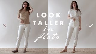 How to Look Taller & Slimmer – Petite Tips for Wearing Flats   Dearly Bethany