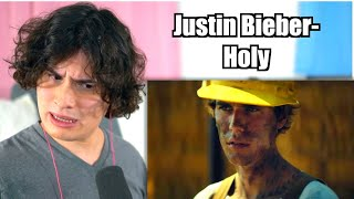 Vocal Coach Reacts to Justin Bieber - Holy ft. Chance The Rapper