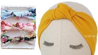 Download How to Make Turban Knot Headband Video