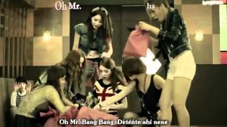 Dal★shabet (달샤벳) - Mr. Bang Bang Español Karaoke Subs Romanization MV HD